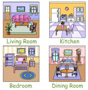 images of different rooms in the home